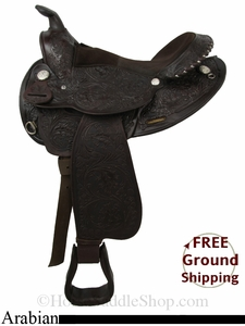 "SOLD 2014/06/16 $810 15"" Used Circle Y Arabian Saddle uscy2835 *Free Shipping*"