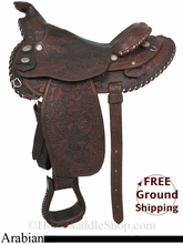 "15"" Used Circle Y Arabian Saddle uscy2843 *Free Shipping*"