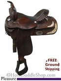 "PRICE REDUCED! 15"" Used Circle Y Pleasure Saddle uscy2641 *Free Shipping*"