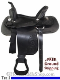 "PRICE REDUCED! 15"" Used Dakota Trail Saddle usdk2719 *Free Shipping*"