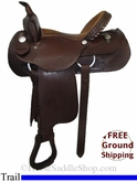 "15"" Used Dakota Trail Saddle usdk2781 *Free Shipping*"