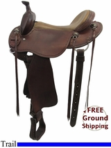 "15"" Used Martin Trail Saddle usms3250 *Free Shipping*"
