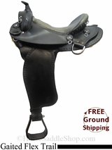 "PRICE REDUCED! 15"" Used Phoenix Rising Gaited Flex Trail Saddle usim3047 *Free Shipping*"