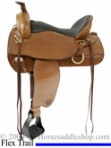 "16 1/2"" or 17 1/2"" Tex Tan Flex Eminence Trail Saddle 08-tf4012"