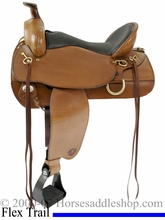 "16 1/2"" or 17 1/2"" Tex Tan Flex Eminence Trail Saddle 292TF493"