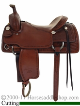 """16"""" to 17"""" Billy Cook Classic Ranch Cutter Saddle 8960"""