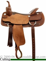 "16"" to 17"" Billy Cook Pro Cutter Saddle 8940"
