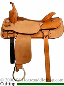 "16"" to 17"" Billy Cook Classic Cutting Saddle 8942"