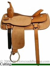 """16"""" to 17"""" Billy Cook Classic Cutting Saddle 8942"""