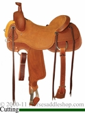 "** SALE **16"" to 17"" Circle Y Xtreme Performance Dodge Cowhorse Ranch Sorter Saddle 1389 *free gift*"