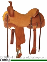 "15"" to 17"" Circle Y Xtreme Performance Dodge Cowhorse Ranch Sorter Saddle 1389 *free pad or cash discount*"