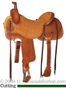 """15"""" to 17"""" Circle Y Xtreme Performance Dodge Cowhorse Ranch Sorter Saddle 1389 w/Free Pad"""
