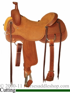 "** SALE **15"" to 17"" Circle Y Xtreme Performance Dodge Cowhorse Ranch Sorter Saddle 1389 *free pad or cash discount*"