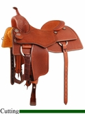 "16"" 16.5"" Martin Saddlery Performance Saddle mr28WS"