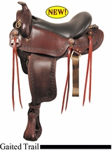 "16"" 17"" 18""  Big Horn Western Flex Gaited Saddle Wide Tree 1686"