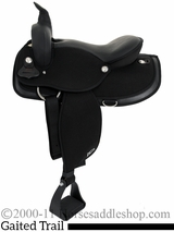 "16"" 17"" Abetta Gaited Comfort Flex Trail Saddle 20537F"