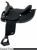 "16"" 17"" Abetta Gaited Comfort Trail Saddle 20537"