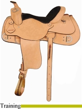 "16"" 17"" American Saddlery AJ Trainer Saddle am1986"