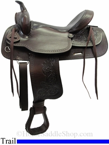 "15"" to 17"" American Saddlery Texas Best Del Rio Rider Trail Saddle 950"
