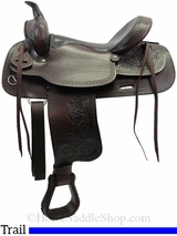 """15"""" to 17"""" American Saddlery Texas Best Del Rio Rider Trail Saddle 950"""