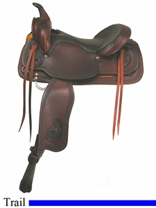 "15"" to 17"" American Saddlery Texas Best Del Rio Rider Trail Saddle am950"