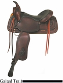 "16"" 17"" American Saddlery Texas Best Del Rio Rider Trail Saddle, Gaited am950G"