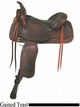 "16"" 17"" American Saddlery Texas Best Del Rio Rider Trail Saddle, Gaited 950G"