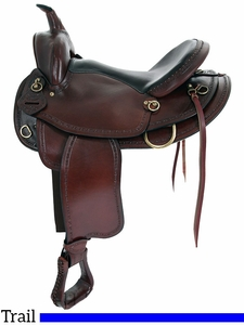 "** SALE ** 16"" 17"" American Saddlery Texas Best Hill Country Trail II Saddle 940FQH"