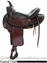 "16"" 17"" American Saddlery Texas Best Hill Country Trail II Saddle, Gaited 940G"
