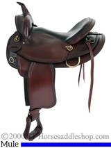 """16"""" 17"""" American Saddlery Texas Best Hill Country Mule Trail II Saddle 940M"""