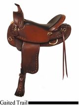 "16"" 17"" American Saddlery Texas Best Hill Country Trail III Saddle, Gaited 938G"