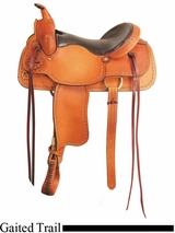 "16"" 17"" American Saddlery Texas Best The San Saba Trail Saddle, Gaited 951G"