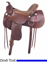 "16"" 17"" American Saddlery The Draft Master Saddle 1550"