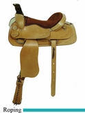 "16"" 17"" American Saddlery Trail Master Brazos Roper Saddle am1650-1850"