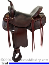 "16"" 17"" Big Horn Evolution Trail Saddle 1690 1691"