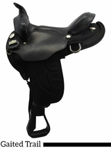 "16"" 17"" Big Horn Synthetic Gaited Saddle 309 310"