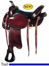 "16"" 17"" Big Horn Trail Saddle 1692 1693"