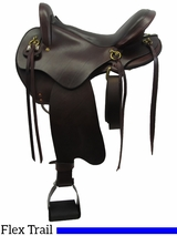 "16"" 17"" Big Horn Flex Trail Saddle 806 807"