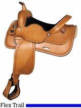 "16"" 17"" Big Horn Trail Saddle 1640 1642"