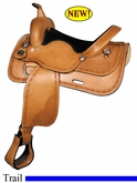 "16"" 17"" Big Horn Trail Saddle FQH 1640 1642"