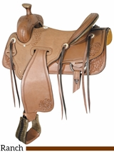 "** SALE ** 16"" 17"" Billy Cook Panhandle Rancher Saddle 291826"