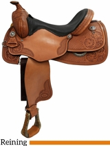 "** SALE ** 16"" 17"" Courts Saddlery Reining Saddle 98817AN"