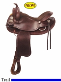 "16"" 17"" Crates Basic Trail Saddle 2100 Equi-Fit Tree"