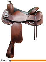 """NO LONGER AVAILABLE 16"""" 17"""" Crates Classic Reining Saddle 2227"""