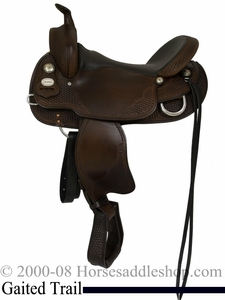 "NO LONGER AVAILABLE 15"" to 17"" Crates Gaited Horse Trail Saddle 281"