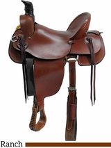 "15"" to 17"" Dakota Mule Saddle 800"
