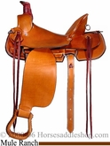 "16"" 17"" Dakota Mule Saddle 800"