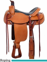 "15"" to  17"" Dakota Roper Saddle 201M"