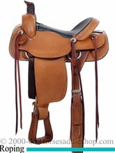 "16"" 17"" Dakota Roper Saddle 201M"