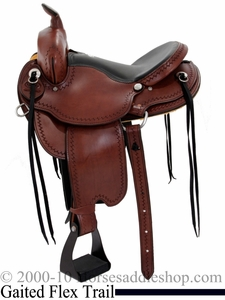 Dakota Gaited Flex Trail Saddle 211